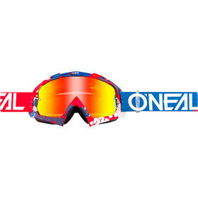 O'Neal B-10 Lunettes de protection, pixel red/blue-radium